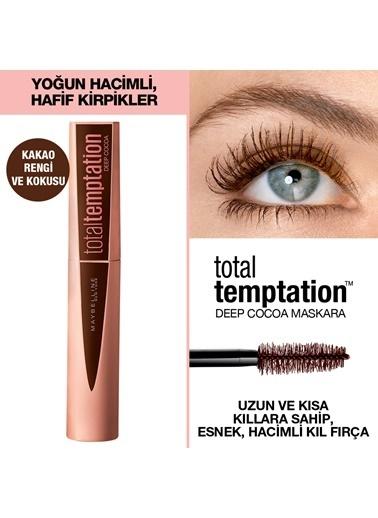 Maybelline Maybelline New York Total Temptation Maskara 02 Deep Cocoa - Kahverengi Kahve